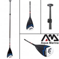 Aqua marine carbon sup paddle