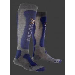 X-Bionic Sokker Comfort Sort/Blå