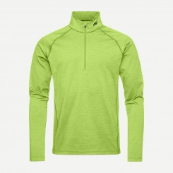 Kjus Second Skin Halfzip Lime