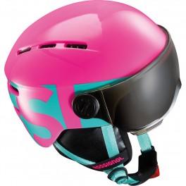 Rossignol visor jr pink hjelm